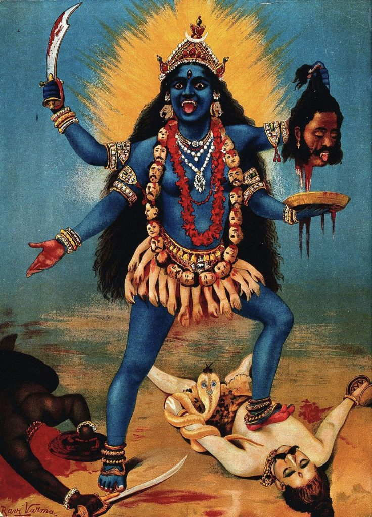 Libéractrice-Kali-Libérer ses émotions négatives